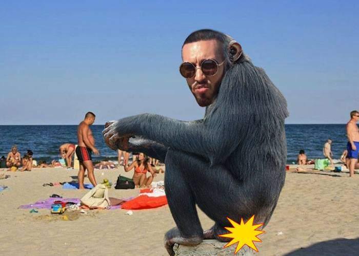 """Alex Velea, încasări modeste pe litoral: """"Nu se mai pozează lumea cu maimuța ca pe vremuri"""""""
