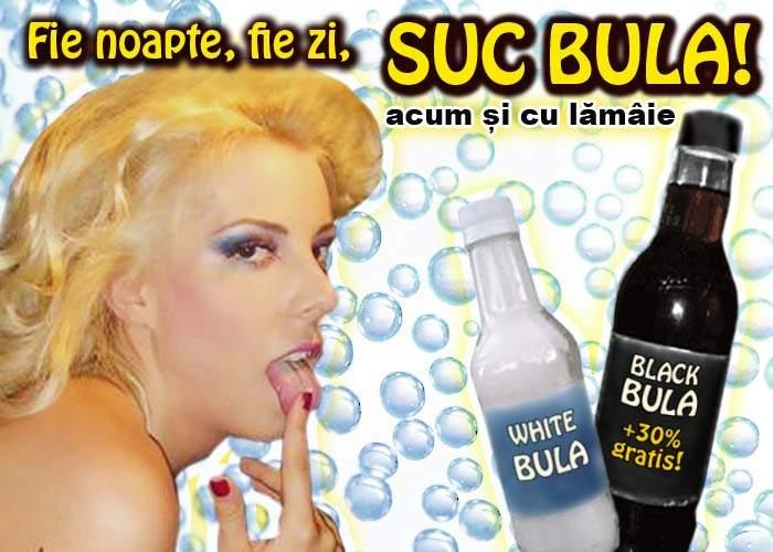"""Alina Plugaru face reclamă la o băutură răcoritoare acidulată: """"Suc Bula, fenomenal!"""""""