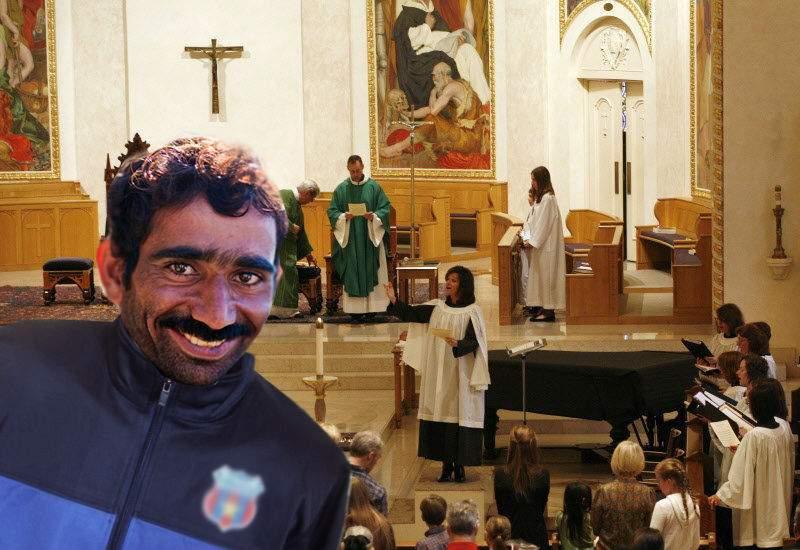 Italia. Un român a strigat Allah Akbar în biserică şi în haosul creat a furat cutia milei