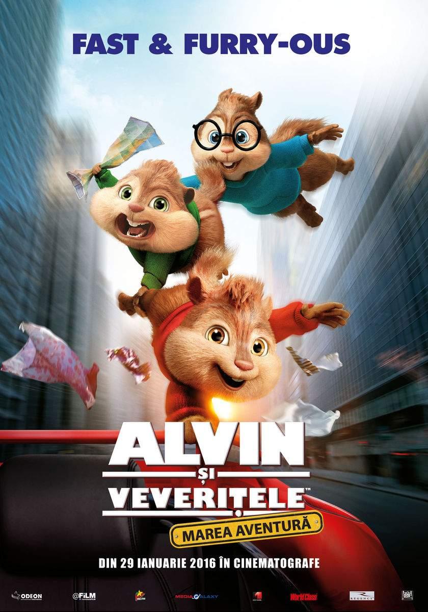 Alvin and the Chipmunks: The Road Chip (2015) – Merită câteva alune
