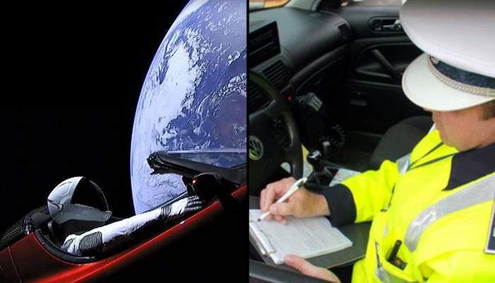 Poliţia rutieră i-a trimis o amendă lui Elon Musk pentru că a trecut pe la Feteşti fără să achite taxa