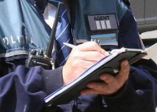 Apariţie misterioasă pe o amendă scrisă de un poliţist: cratime folosite corect