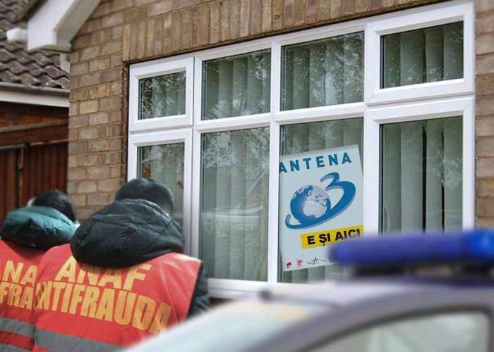 """Atenție! Și cei care au pus """"Antena 3 e aici"""" în geam vor fi evacuați de ANAF"""