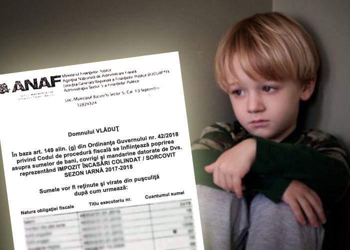 ANAF va obliga copiii care au făcut bani din colindat să plătească impozit pentru ei