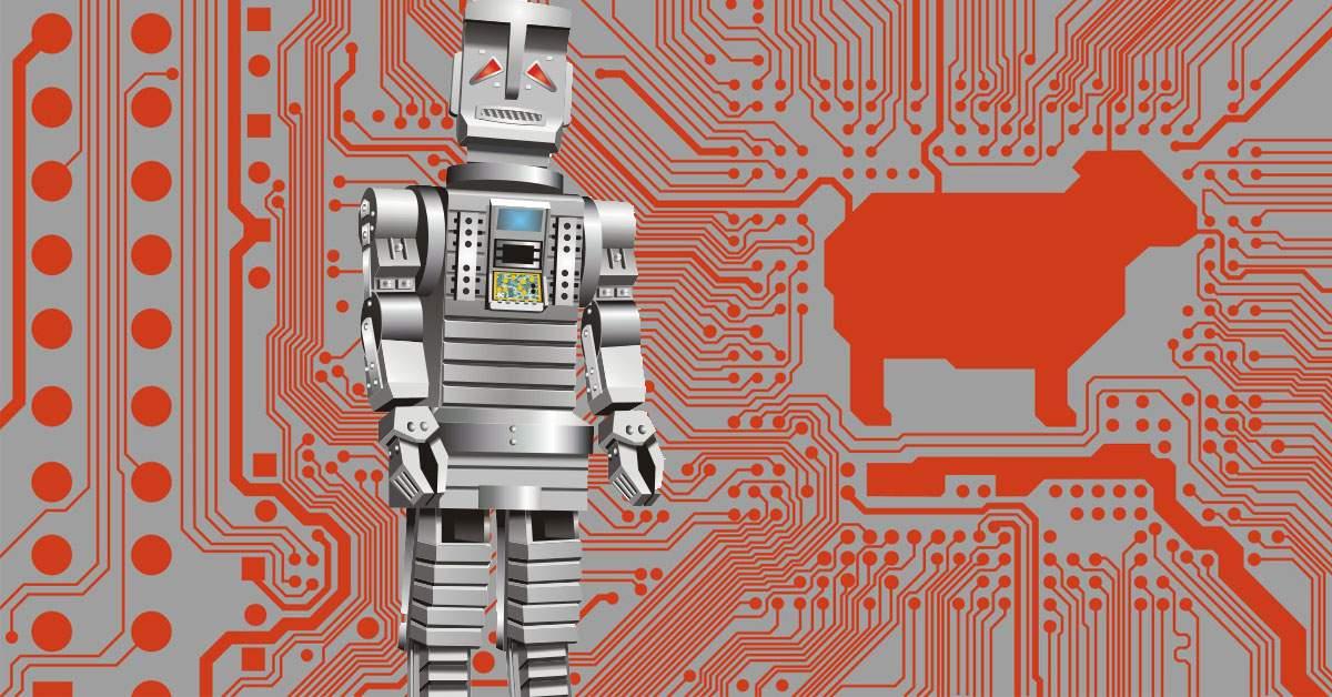 Un android a fost ucis de alți doi androizi care doreau să-i fure oile electrice