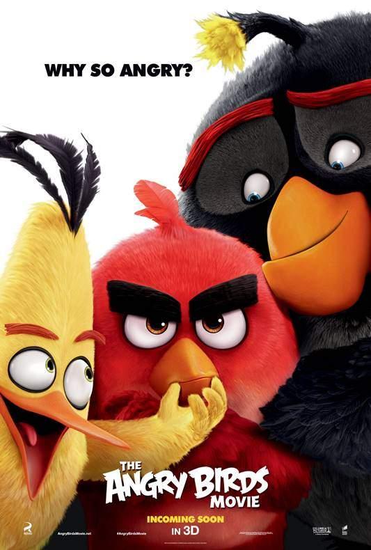 Angry Birds Movie 3D (2016) – Nu le căutați la ouă!