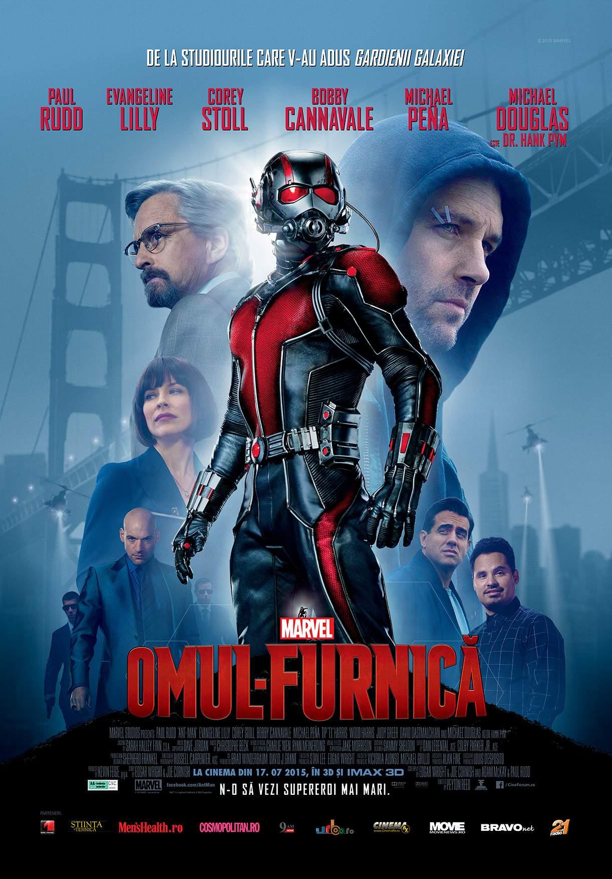 Ant-Man (2015) – Supererouleț, cam delicat și nătăfleț