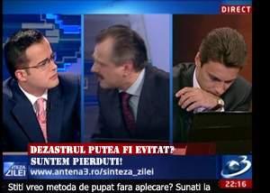 Panică în Antena3: Medicii i-au interzis lui Voiculescu să se aplece