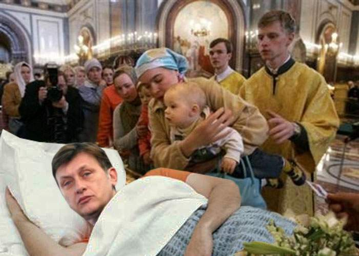 Mii de credincioşi vor urmări reeditarea Adormirii Maicii Domnului de către Crin Antonescu
