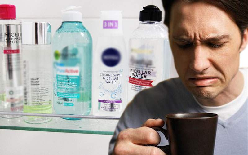 Mii de bărbaţi români au cumpărat apă micelară crezând că are gust de mici