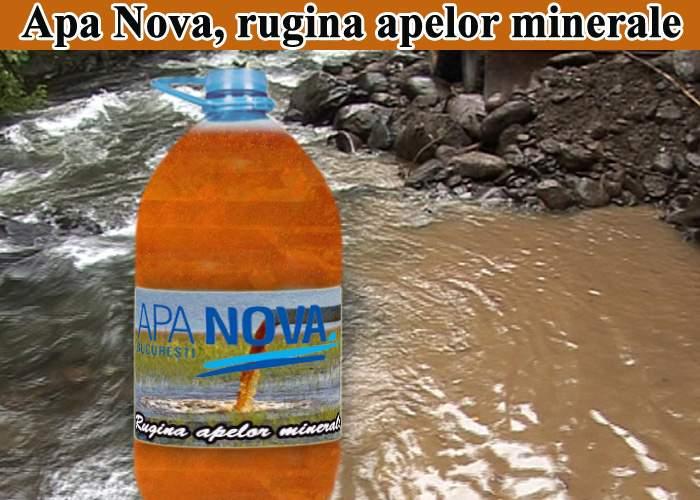 """Apa Nova Bucureşti, noua """"rugină a apelor minerale"""""""