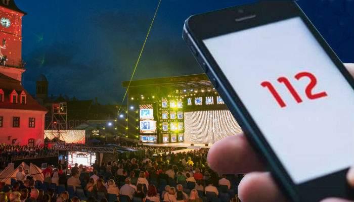 Deşi au fost înregistrate sute de apeluri la 112, Festivalul Cerbul de Aur continuă!