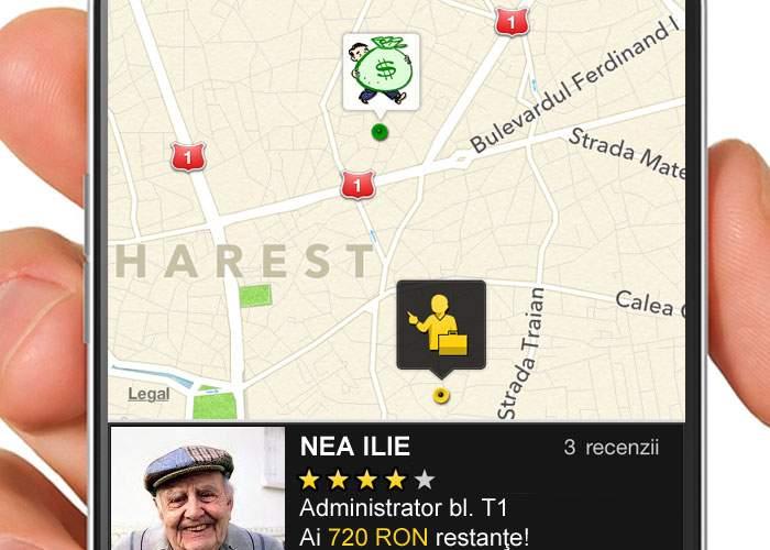 S-a lansat o aplicaţie pentru locatari, care îţi afişează în timp real unde se află administratorul