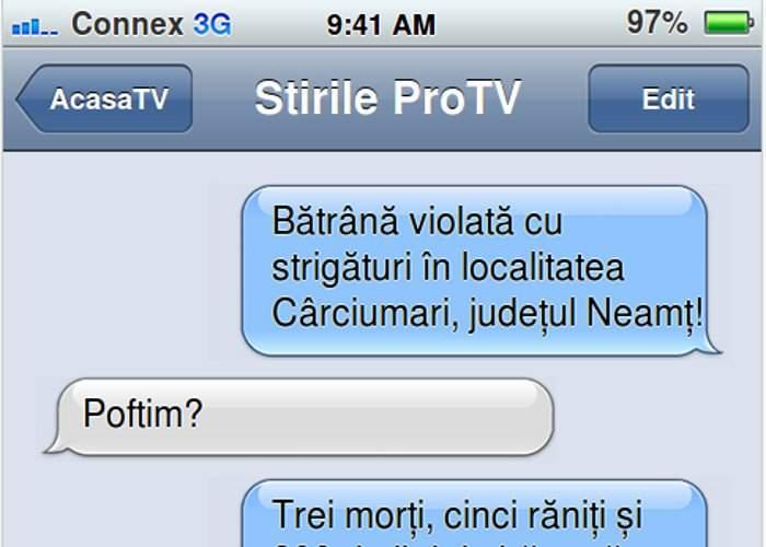 ProTv lansează iViol, aplicaţia care monitorizează în timp real crimele şi violurile din România