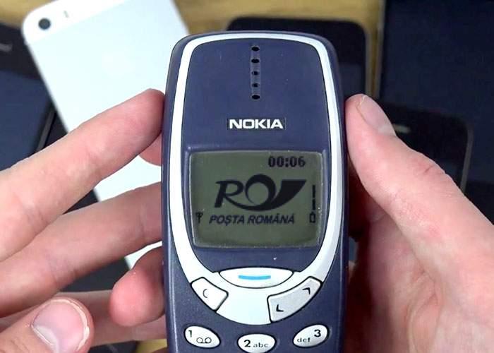 Mereu în pas cu vremurile! Poşta Română a lansat o aplicaţie pentru Nokia 3310