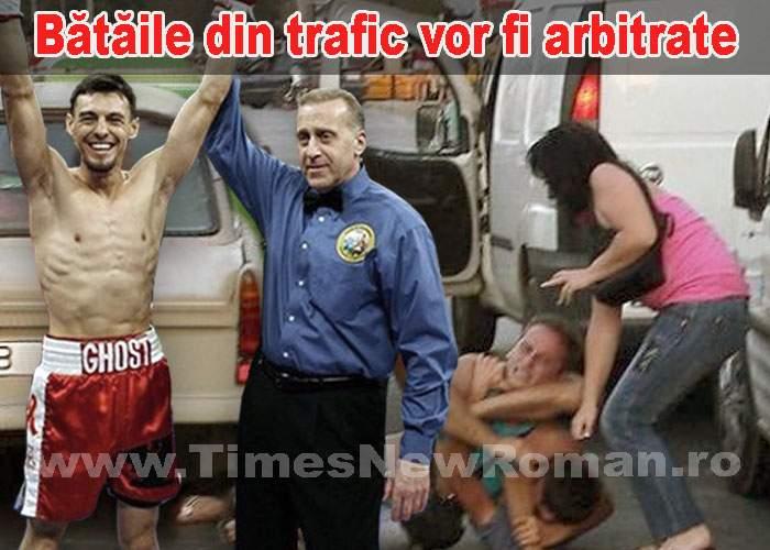 După noul Cod Rutier, toate bătăile din trafic vor fi arbitrate