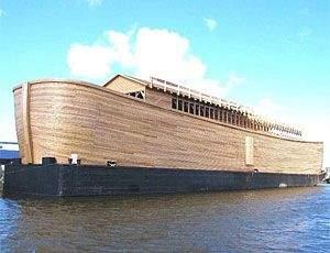 Arca lui Nae: Un moldovean îşi construieşte arcă, în aşteptarea inundaţiilor