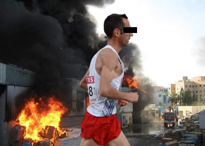 Un român a ars 3 milioane de calorii într-o oră! A dat foc unui depozit de margarină