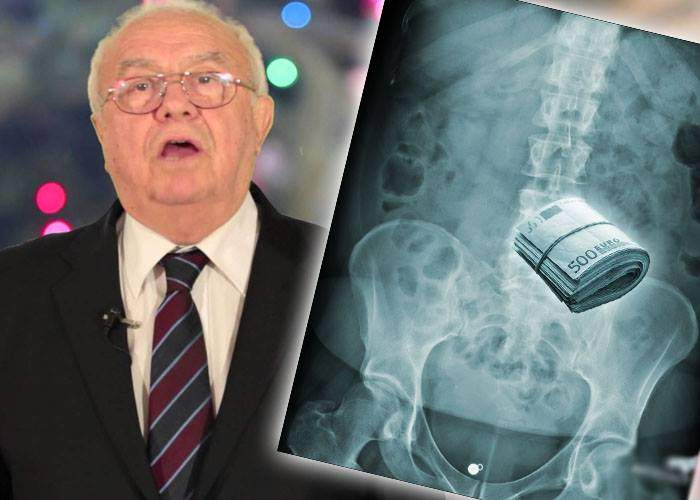 Arșinel s-a tăiat pe burtă, să verifice dacă medicul Lucan n-a ascuns în el niște euro când i-a făcut transplantul
