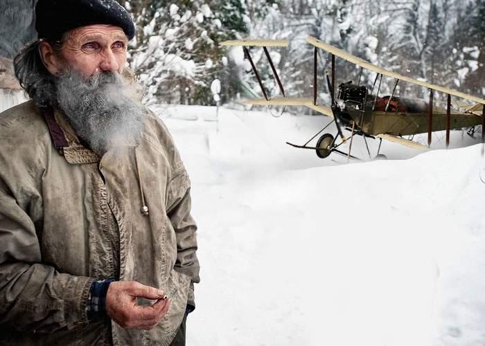 """Sătenii din Beliş l-au găsit pe Aurel Vlaicu: """"A supravieţuit accidentului, e bătrân, dar e bine"""""""