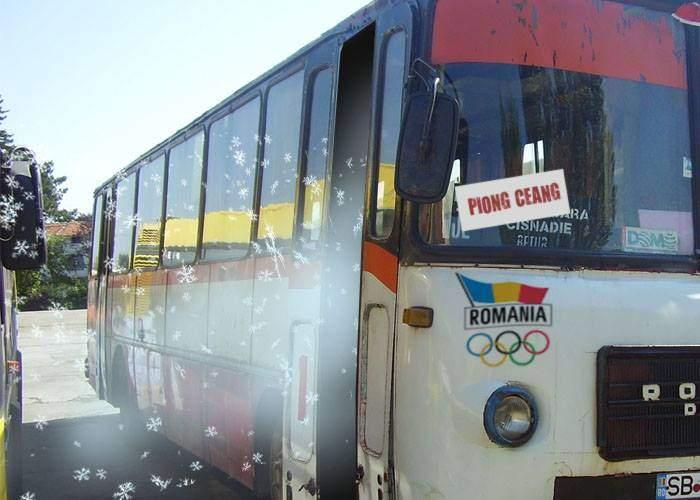 În lipsă de altceva, România a trimis la Olimpiada de Iarnă din Coreea niște frig