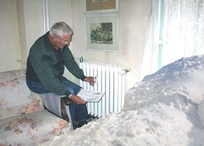 Din cauza pericolului inundaţiilor, autorităţile îi roagă pe români să bage zăpada în case