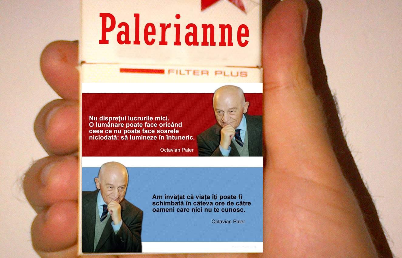 Toți românii s-au lăsat de fumat, după ce pe pachete au apărut avertismente scrise de Octavian Paler