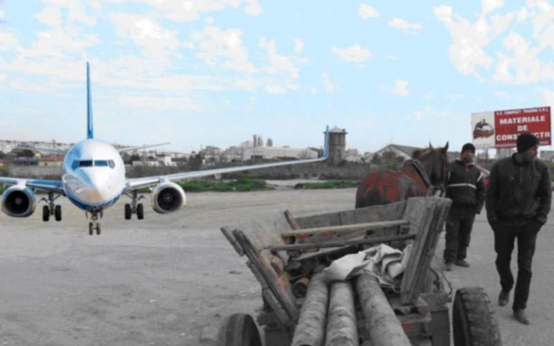 Un terorist român a deturnat un avion ca să-l dea la fier vechi