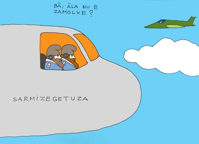 Aviație dacică