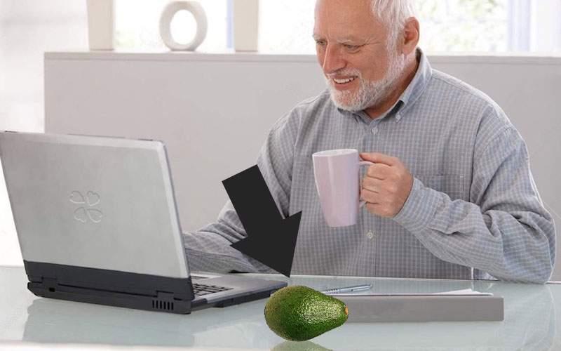 A apărut un avocado de plastic pe care poţi să-l ţii pe birou ca să pară că trăieşti sănătos