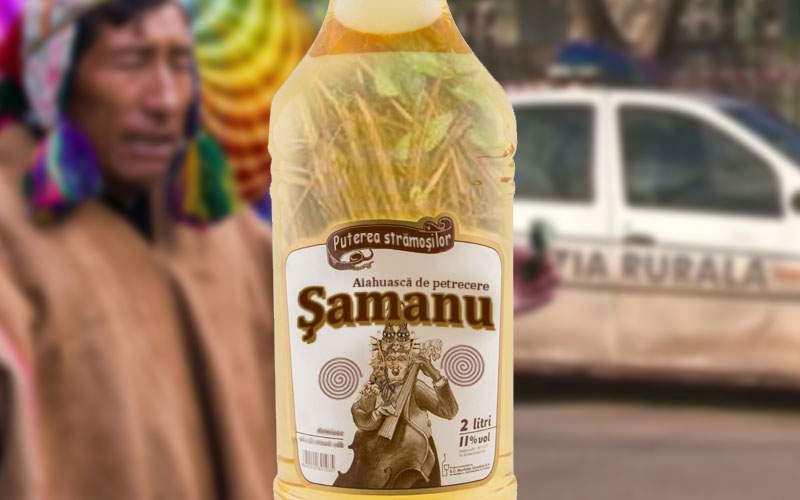 A apărut Şamanu, prima ayahuasca la PET de 3 litri
