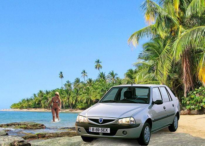 O nouă sfidare la adresa Poliţiei Române! Posesorul auto cu numărul B 69 SEX a cerut azil în Costa Rica