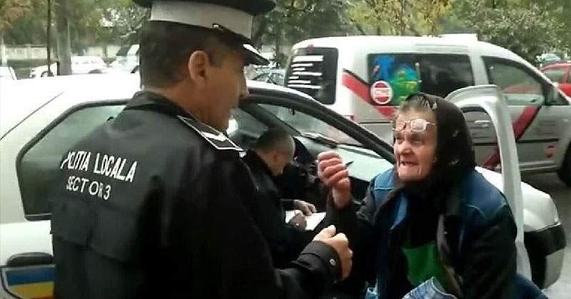 Ca să-şi spele păcatele, Poliţia eliberează din arest 30 de babe care vindeau leuştean