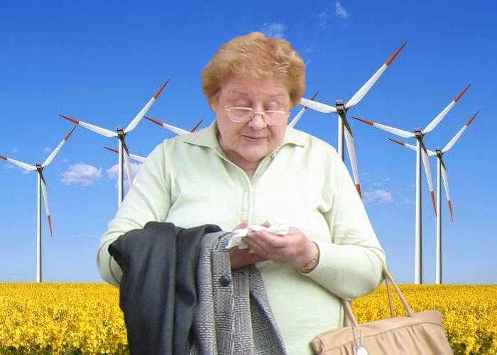 Este moral? Constructorii de centrale eoliene folosesc babe ca să găsească locurile cu cel mai puternic curent