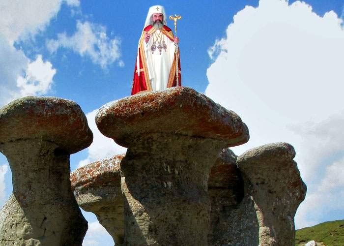 Patriarhul Daniel: Bucegii sunt locul ideal pentru o biserică, avem deja şi Crucea, şi Babele