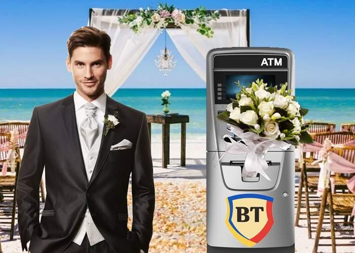 Un român vrea să se căsătorească cu un ATM de la Banca Transilvania, că nu i-a luat niciodată comision