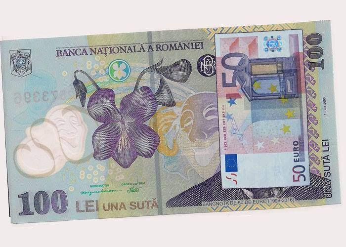 După SUA, și România schimbă bancnotele: Pe cea de 100 de lei va apărea o hârtie de 50 de euro