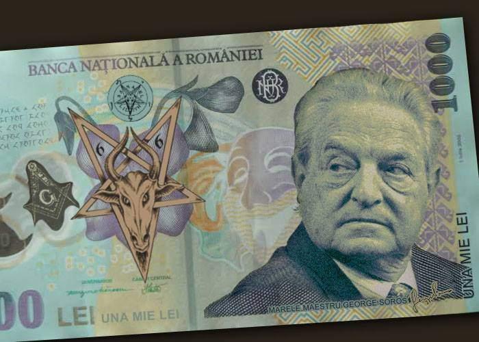România nu se mai ascunde. De 1 Decembrie lansăm bancnota de 1000 lei, cu chipul lui Soros