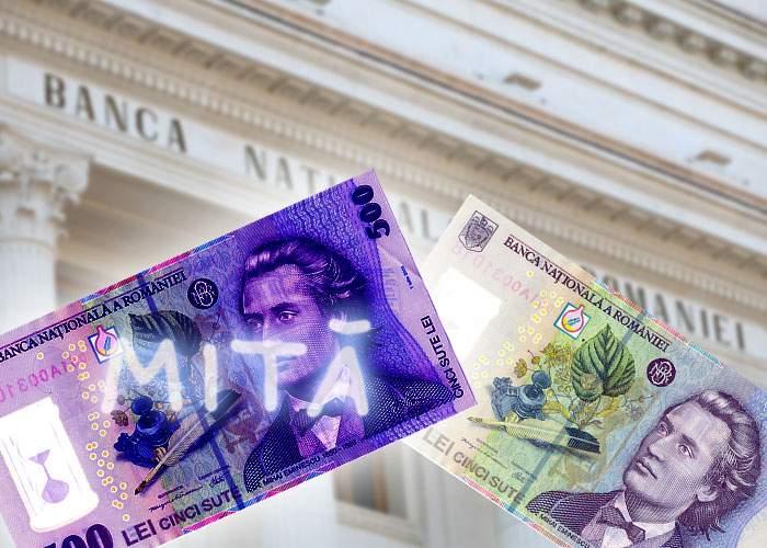 """Nou amendament la legea graţierii: bancnotele pe care scrie """"Mită"""" pot fi schimbate la BNR cu unele normale"""
