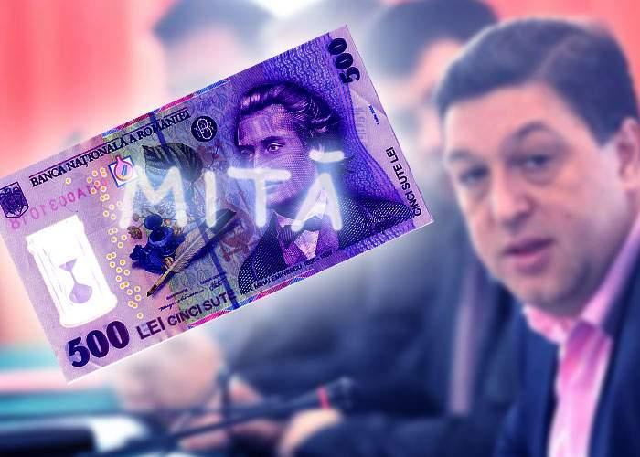 """Nouă propunere PSD: cei care scriu """"Mită"""" pe bancnote, băgaţi la închisoare pentru vandalism"""