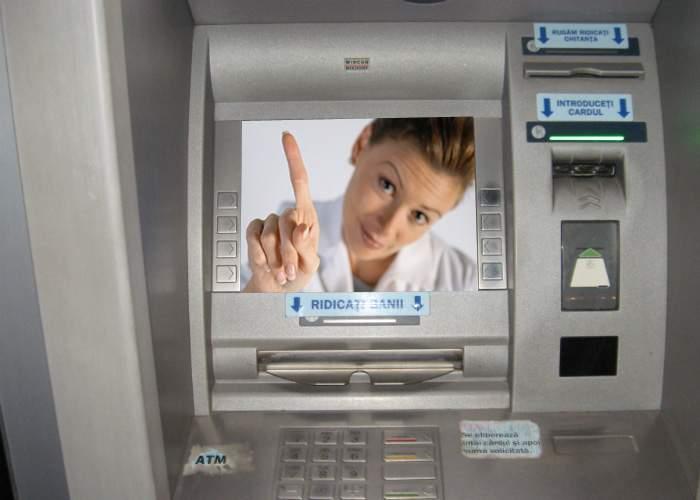Abuz! Au apărut bancomatele inteligente, care îţi dau bani de bere doar cu acordul soţiei