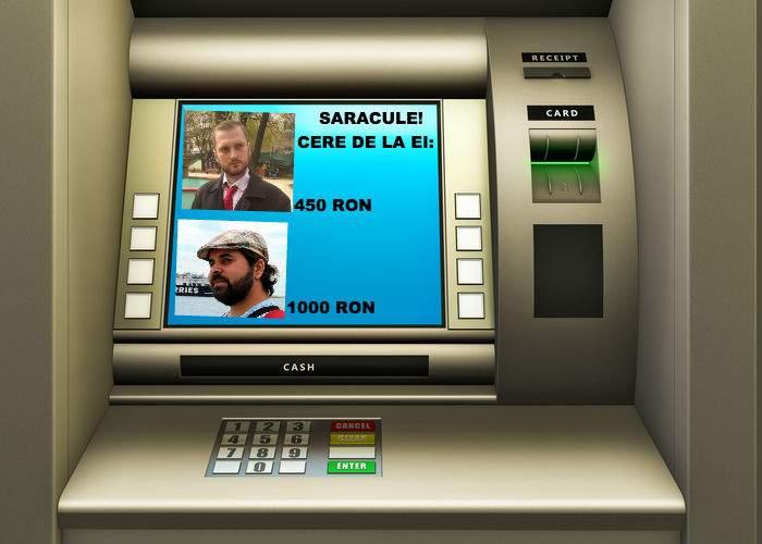 Bancomatul prietenos. Dacă n-ai bani pe card, îţi spune de la care coleg poţi cere un împrumut