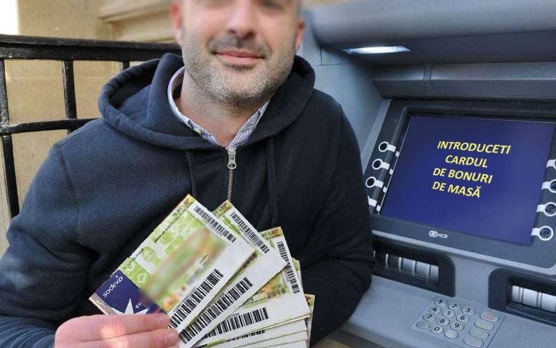 A apărut bancomatul de bonuri de masă, unde poţi scoate bonuri de pe cardul de bonuri