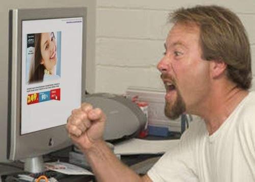 Banerele publicitare de pe site-uri, mai agresive şi mai periculoase decât maidanezii