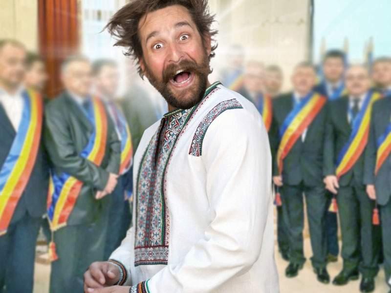 Un român îmbrăcat în port tradiţional autentic, ofertat de 10 primării pentru concerte
