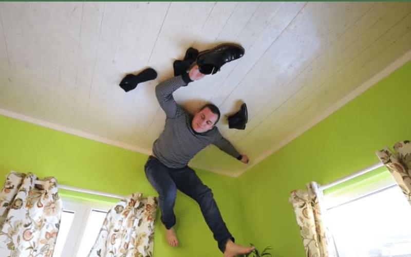Adevăratul Spiderman. Un român se urcă pe pereți de plictiseală