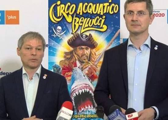 """Circo Acquatico Bellucci intervine în scandalul USR-PLUS: """"Băi, ne facem toți de rușine!"""""""