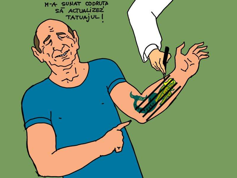 Reacția lui Băsescu