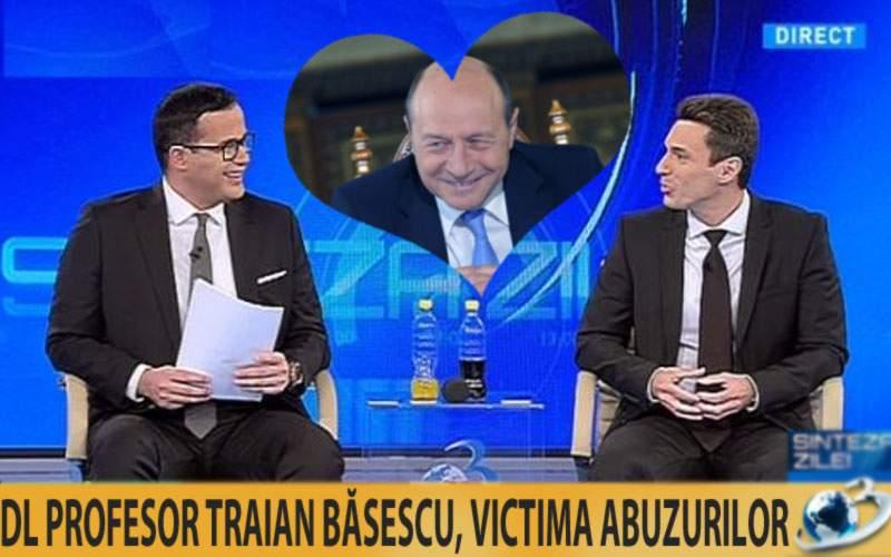 Dovada supremă că Băsescu a turnat la Securitate: Badea şi Gâdea l-au pupat azi în cur