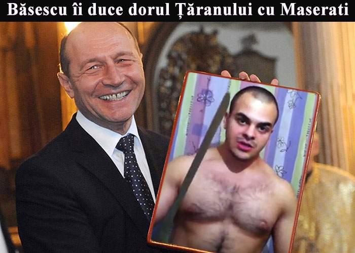 """Băsescu îşi face griji pentru Ţăranul cu Maserati: """"Nu mai știu nimic de el"""""""
